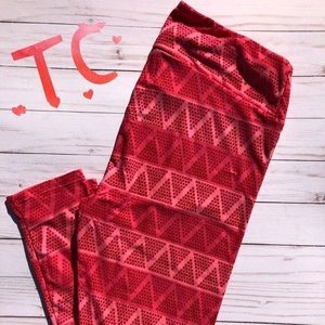 LuLaRoe TC Valentine leggings